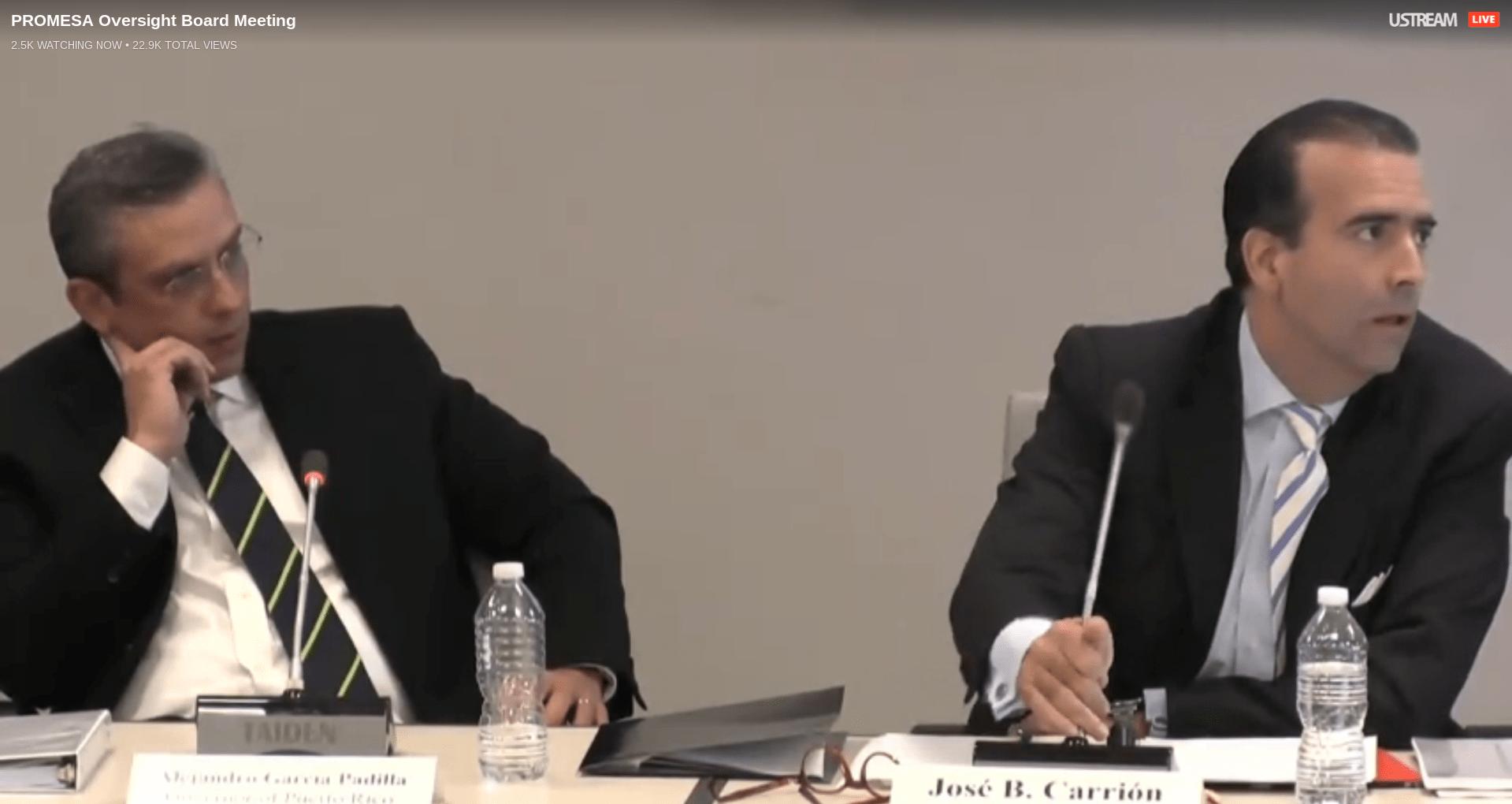 [HOY] Junta de Supervisión Fiscal: Segunda reunión