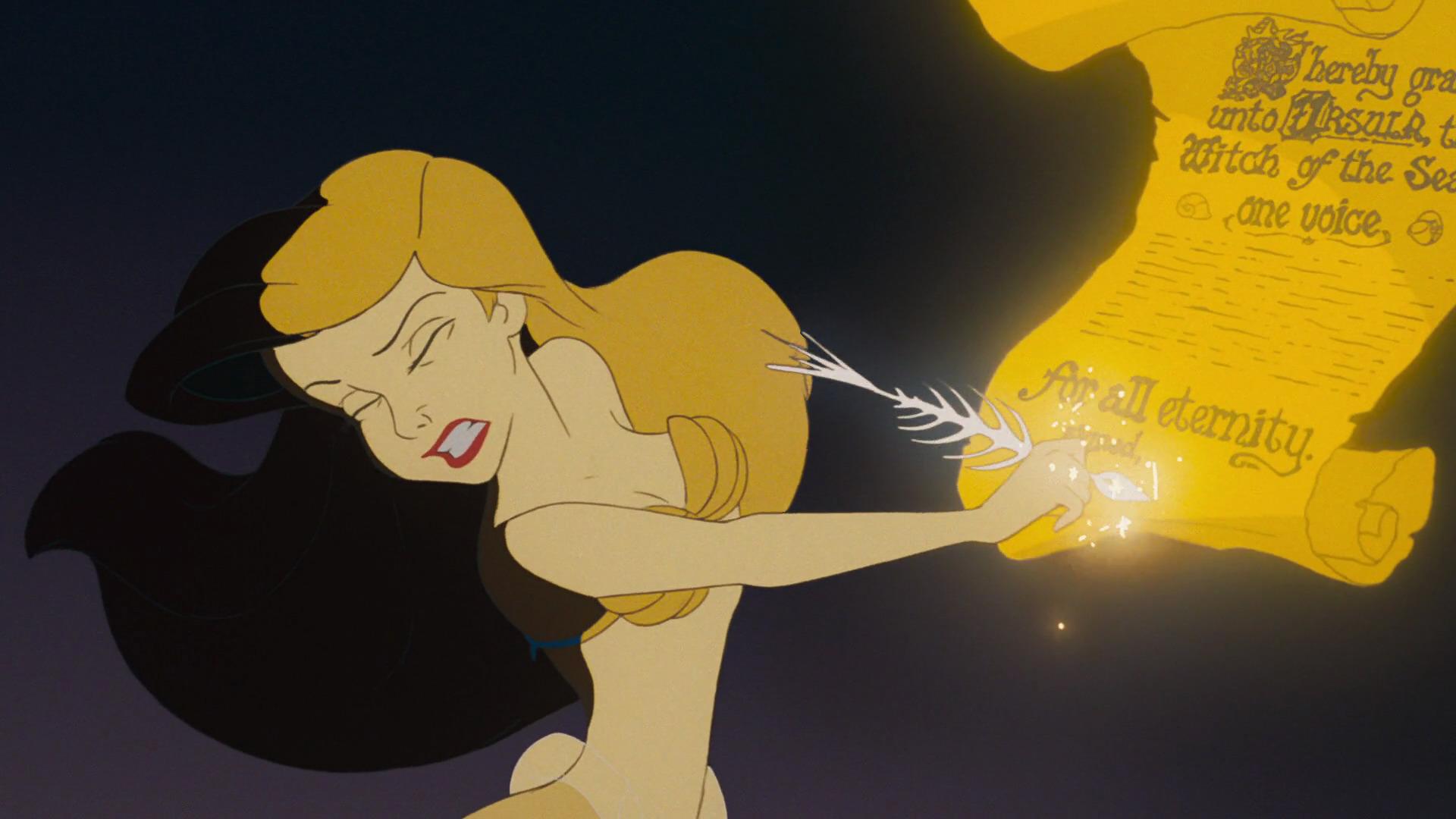 """Abogada analiza contrato al que se sometió Ariel en la película """"The Little Mermaid"""""""