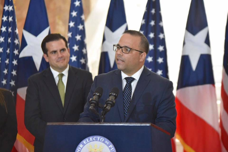 Ricardo Rosselló y Manuel Laboy