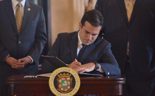 Gobernador firma enmiendas a la Ley de Alianzas Público Privadas