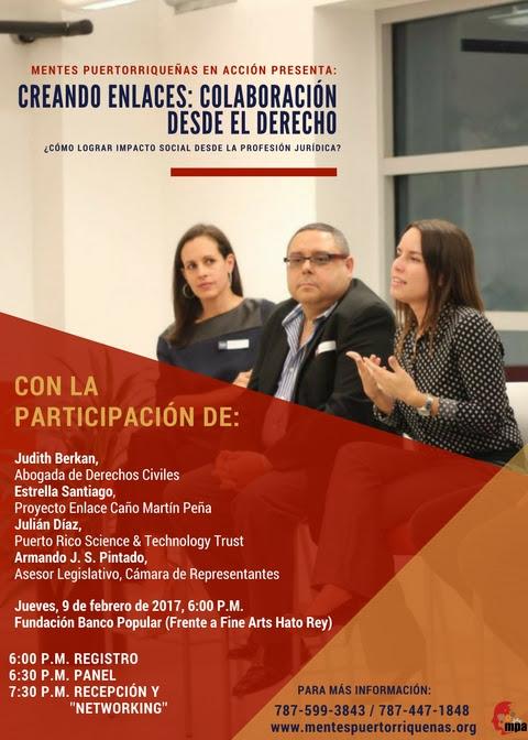 Creando enlaces: Colaboración desde el Derecho