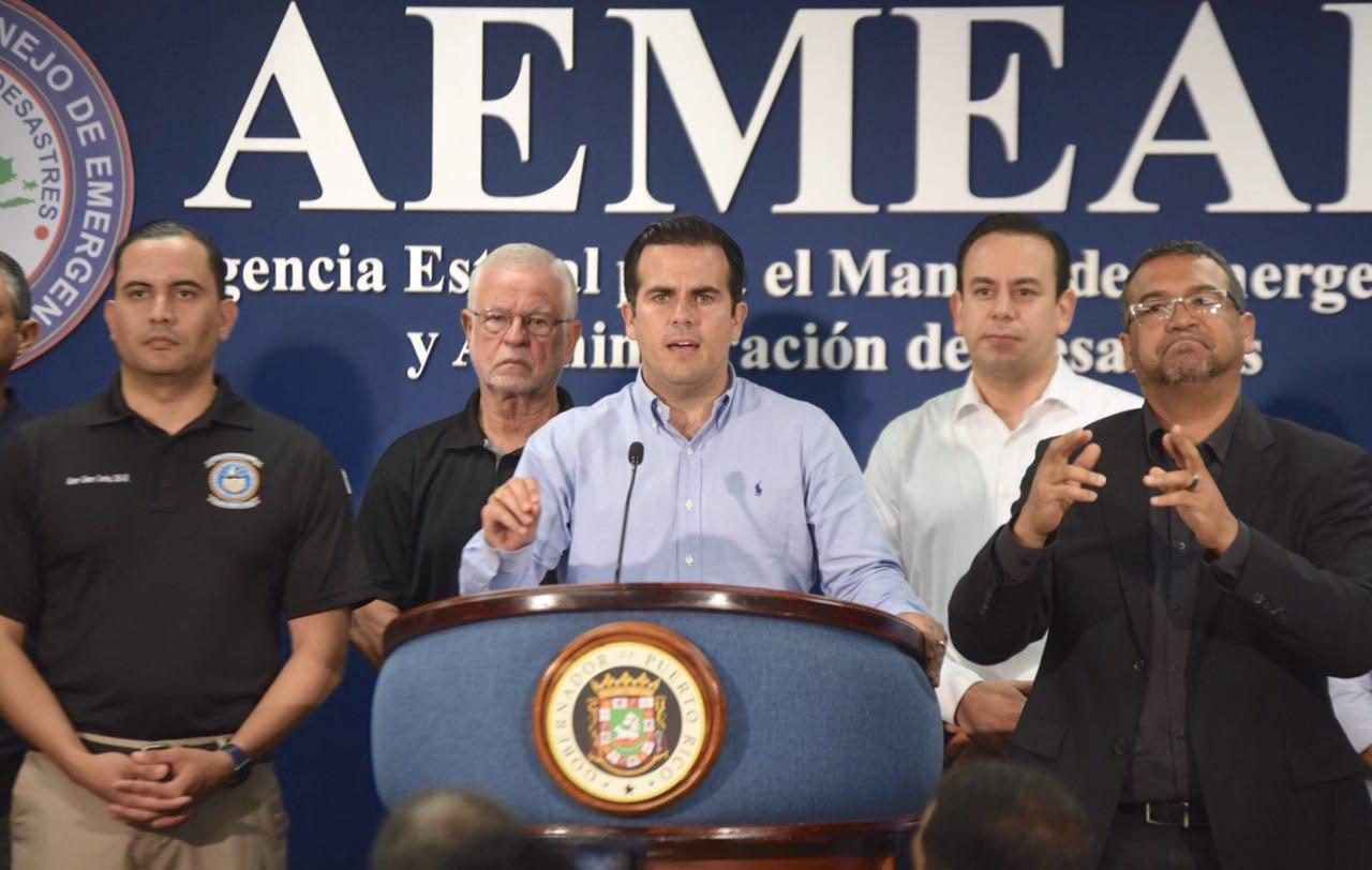 Gobernador actualiza preparativos ante aviso del Huracán Irma