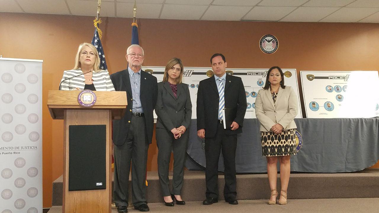 Radican 52 cargos contra 41 individuos del Área Metro por violaciones a la Ley de Sustancias Controladas