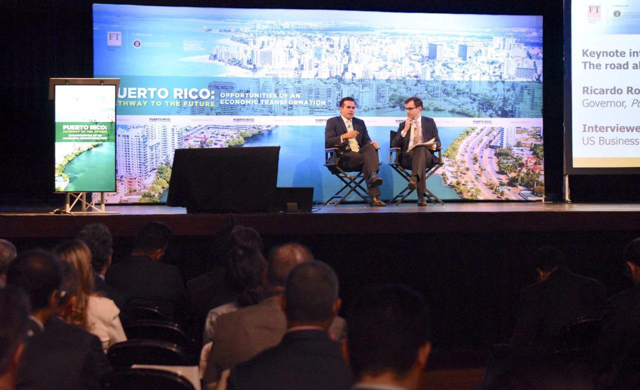 """Gobernador declara la Isla """"abierta para negocios"""" e invita a inversionistas y emprendedores a formar parte de la transformación económica"""