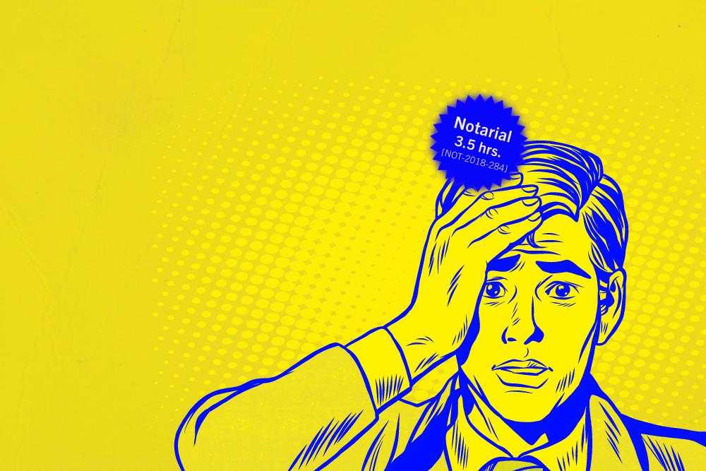 Ojo al notario: Responsabilidades y faltas más comunes en la práctica