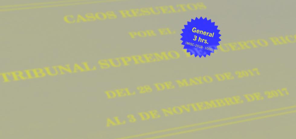 Resumen de jurisprudencia 2017-2019: Procedimiento civil y responsabilidad civil extracontractual