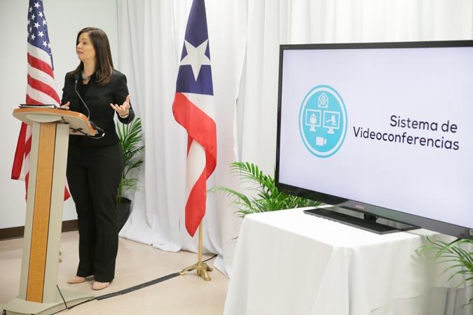 Se expande proyecto de videoconferencias para casos civiles a regiones judiciales de Mayagüez y Utuado