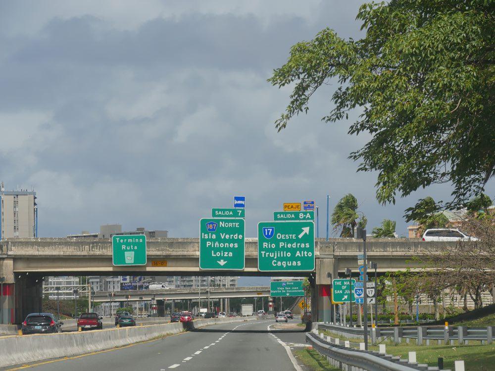 carros carreteras Puerto Rico