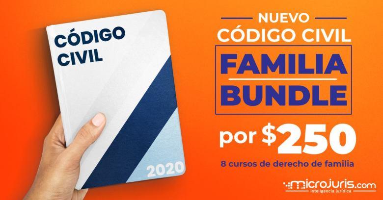 nuevo codigo civil familia bundle