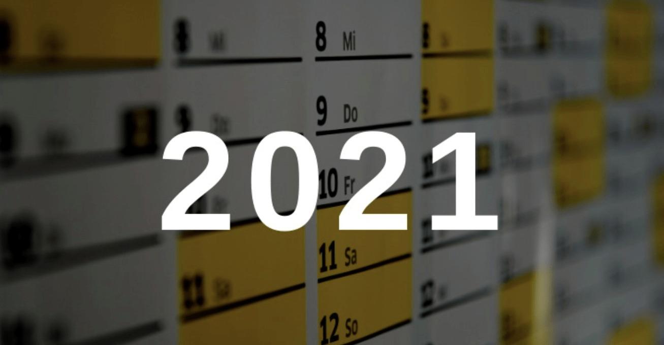 2021 días feriados