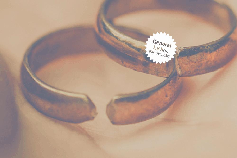 La disolución del matrimonio en el nuevo derecho de familia: Código Civil 2020