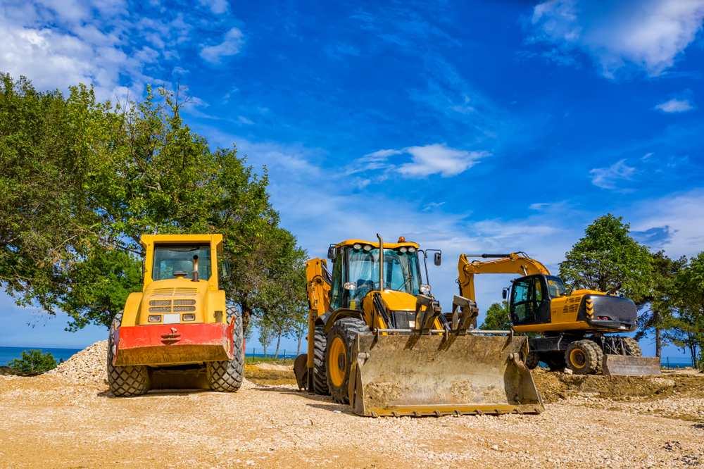 construcción diggers playa
