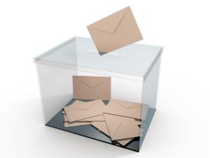 Urna votación
