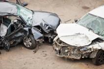 automovil choque daños accidente de transito
