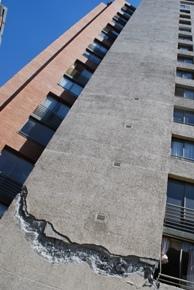 edificios daños terremoto