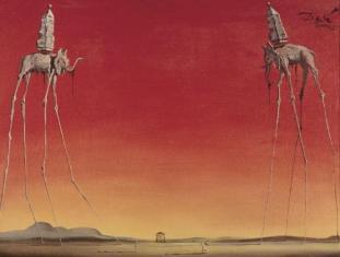 Salvador Dalì - Elephants - 1948