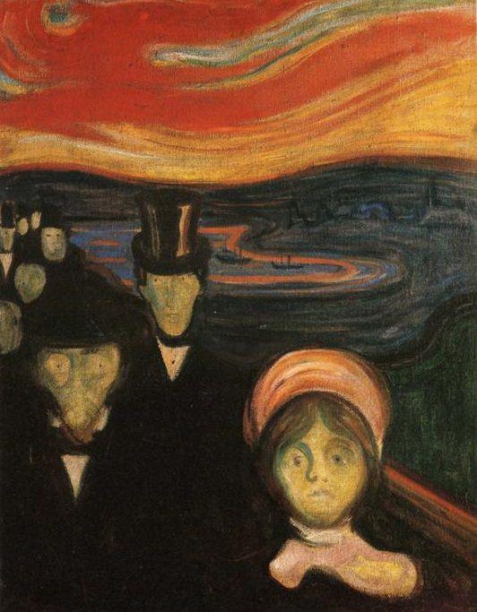 Edvard Munch - anxiety
