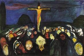 Edvard Munch - Golgotha (1900)