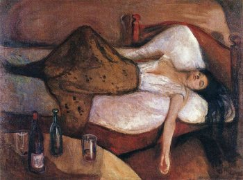 Edvard Munch - the-day-after