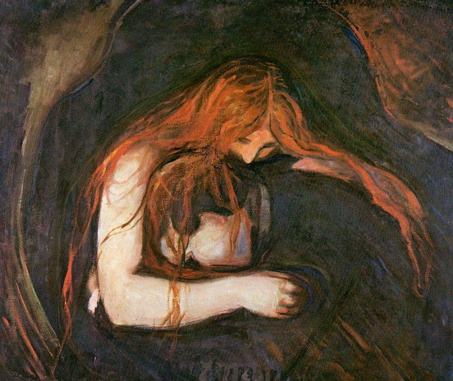 Edvard Munch - vampire