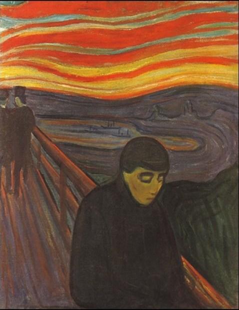Edvard Munch - disperazione