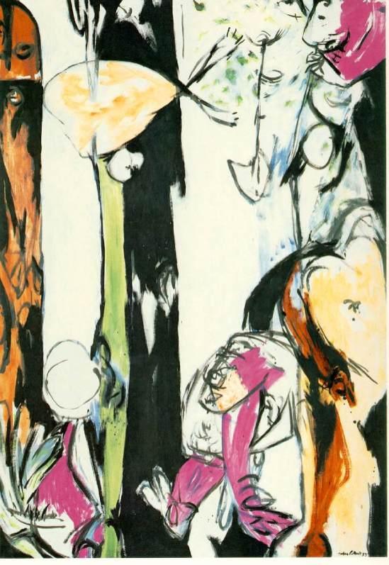 Jackson Pollock - easter-totem