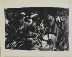Jackson Pollock - figures-in-a-landscape