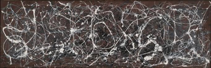 Jackson Pollock - Number-13a-arabesque-1948