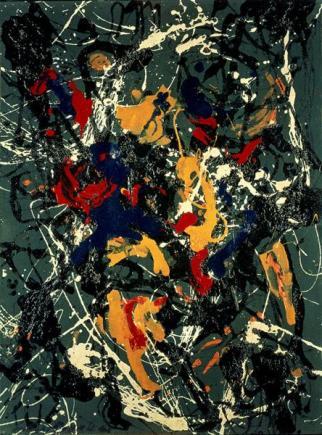 Jackson Pollock - number-3