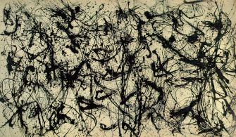 Jackson Pollock - Number-32-1950