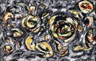 Jackson Pollock - ocean-greyness-1953