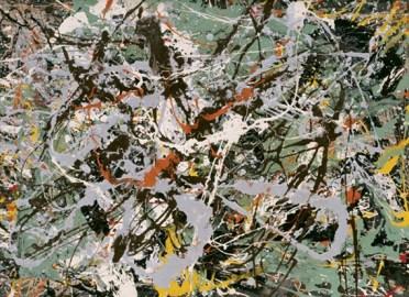Jackson Pollock - untitled-green-silver-1949