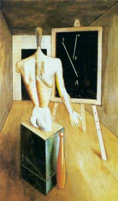 La solitudine - Carlo Carrà