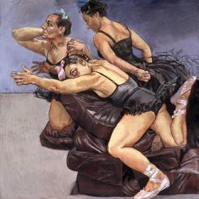 Paula Rego - Dancing Ostriches2