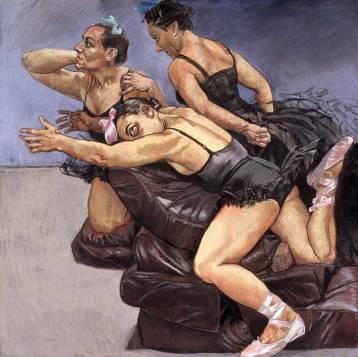 Paula Rego - Dancing Ostriches2