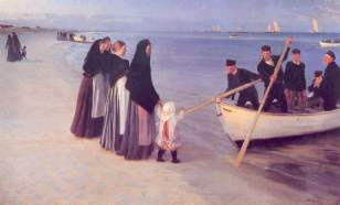 Peder S. Kroyer – Mogli dei pescatori