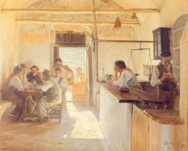 Peder Severin Kroyer - Taverna