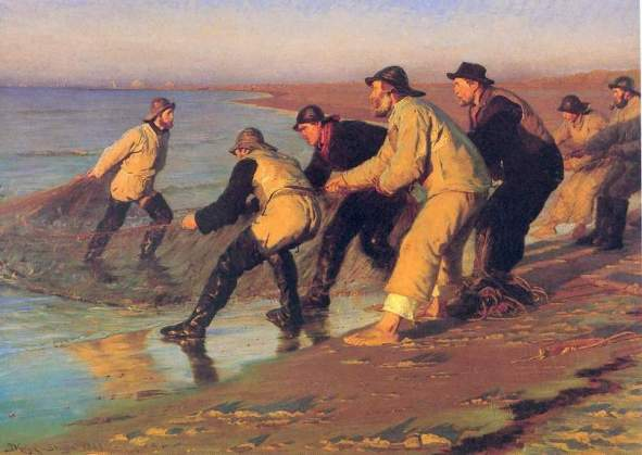 Peder Severin Kroyer - Pescatori