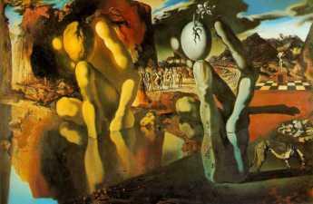 Salvador Dalí - metamorfosi di Narciso