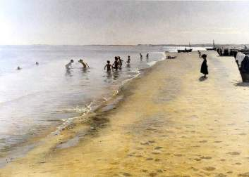 Peder S. Kroyer - Summer Day on Skagen's Southern Shore