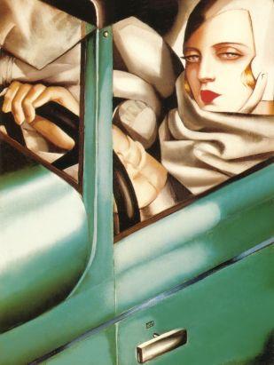 Tamara de Lempicka -1925-Autopotrait