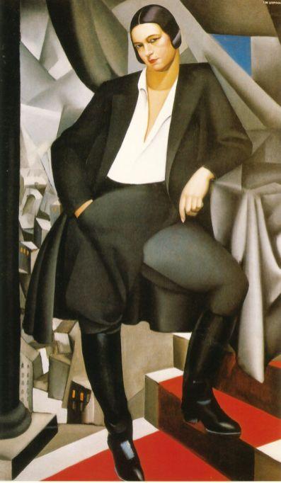 Tamara de Lempicka -1925-DuchessdelaSalle