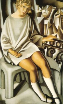 Tamara de Lempicka -1927-KizetteontheBalcony