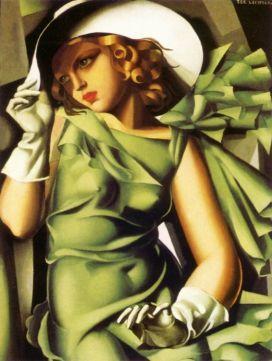Tamara de Lempicka -1929-GirlwithGloves
