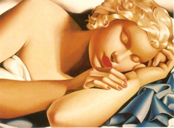 Tamara de Lempicka -1935-SleepingWoman