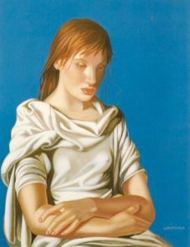 Tamara de Lempicka -1939-LadyinBlue-TheEnd