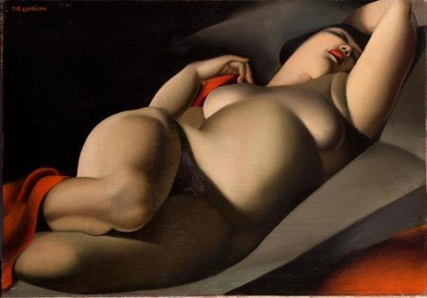 Tamara de Lempicka - La Bella Rapahela