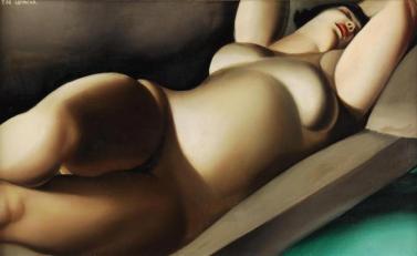 Tamara de Lempicka - La belle Rafaela en vert