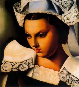 Tamara De Lempicka-Le Bretonne 1934