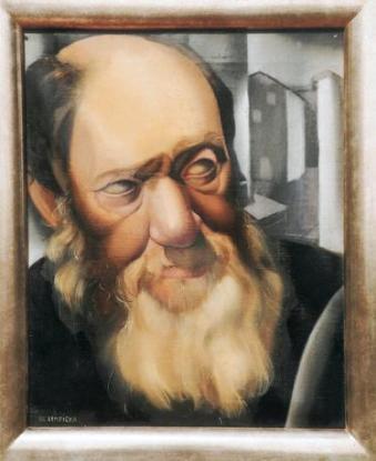 Tamara de Lempicka - Le vieillard